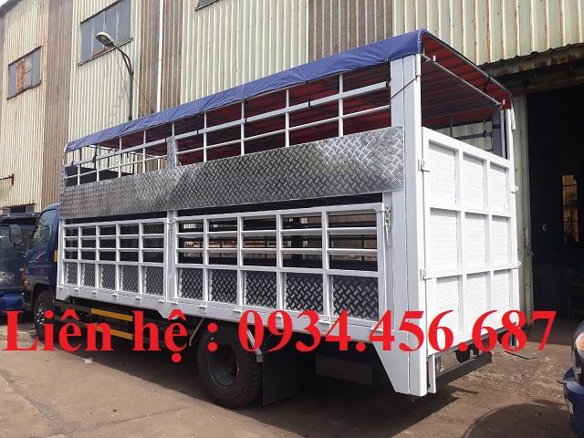 Cải tạo hoán cải thùng xe tải