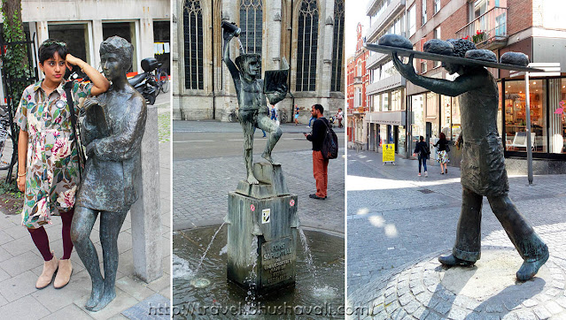 Sculptures Street Art in Leuven One day itinerary