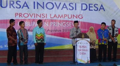 Sujadi Harap Bursa Inovasi Desa Jadi Forum Saling Tukar Inovasi