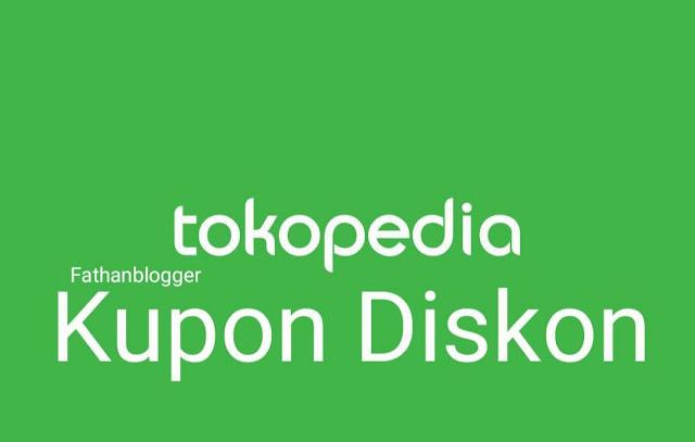 Trik Belanja Selalu Murah Ditokopedia - kupon diskon tokopedia terbaru