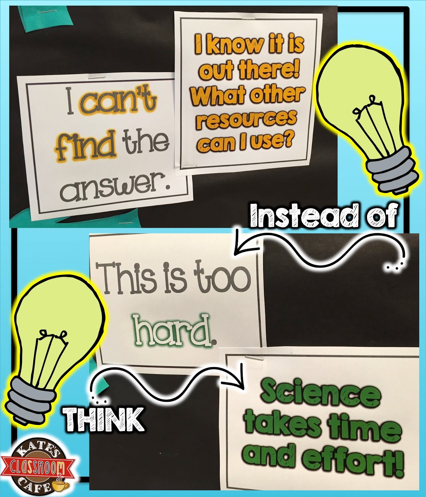 Kate S Science Classroom Cafe Science Mindset Do You