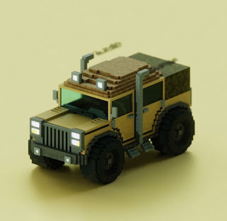 Voxel Jeep