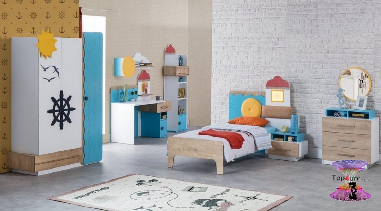 ألوان دهانات غرف أطفال 2020 بأفكار جديدة وغير تقليدية Top4