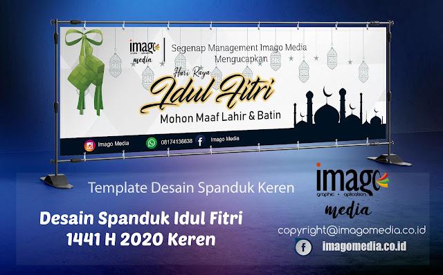 Desain Spanduk Idul Fitri 2020 Keren Free Download