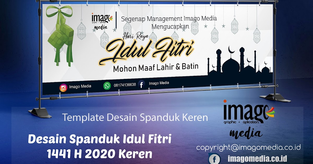 Desain Spanduk Idul Fitri 2020 Keren Free Download - Imago ...