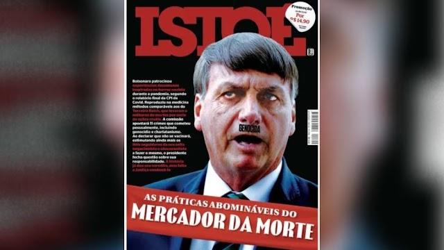Ministro pede à PF investigação de revista por comparação de Bolsonaro a Hitler