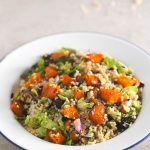 Millet Salad: This millet salad is delicious and can be eaten cold or warm. It is a straightforward recipe, and you can add whatever you want.