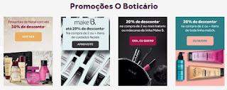 Promoção O Boticário Natal 2017 Kits Presentes Descontos