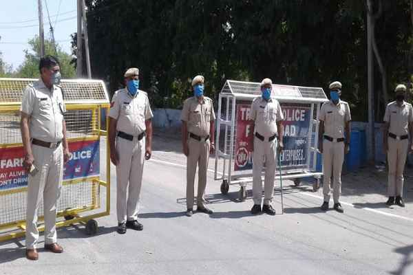 faridabad-police-strict-action-against-lockdown-rule-breaker-30-march