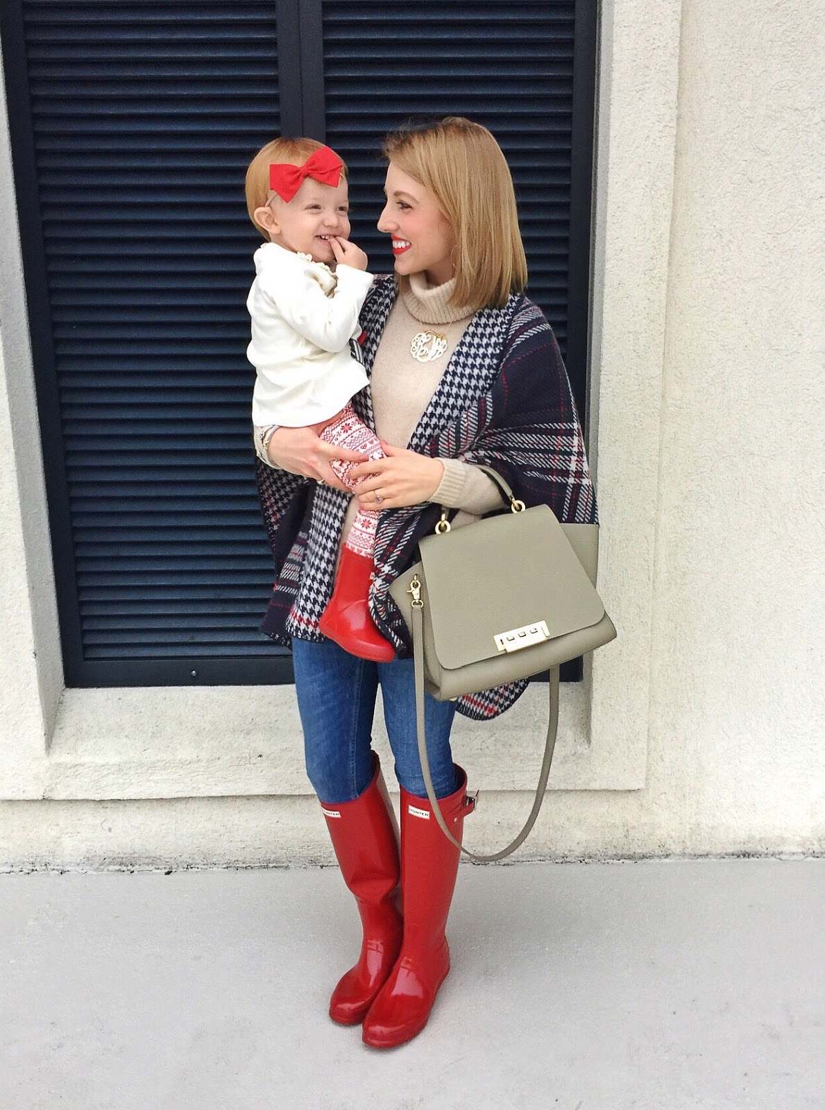 Mother Daughter Hunter Boots - Something Delightful Blog