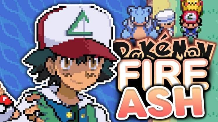 Pocket Monsters USA: Pokemon Fire Ash
