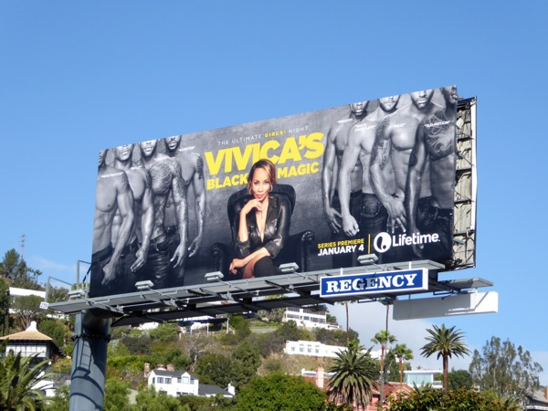 Vivicas Black Magic series premiere billboard