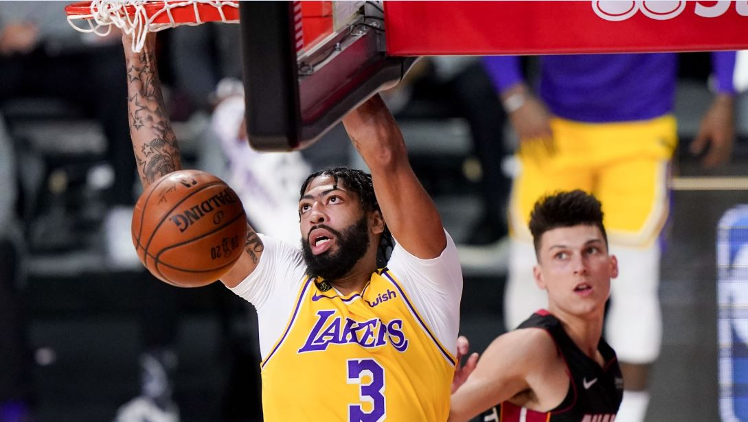 Anthony Davis' late defensive stop and basket helped the Lakers secure game 4