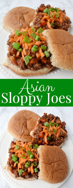 Asian Sloppy Joes recipe
