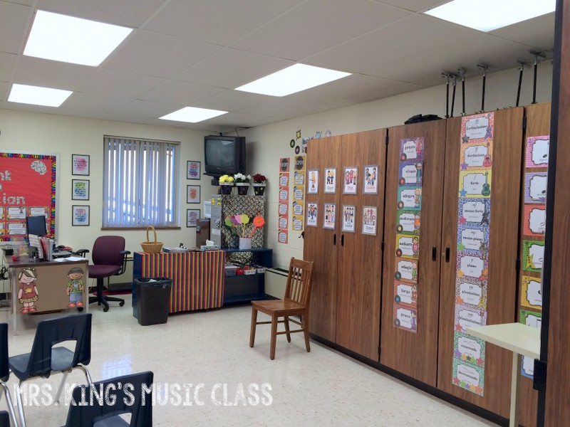 Music Classroom Decoration Ideas : Mrs king s music class classroom tour