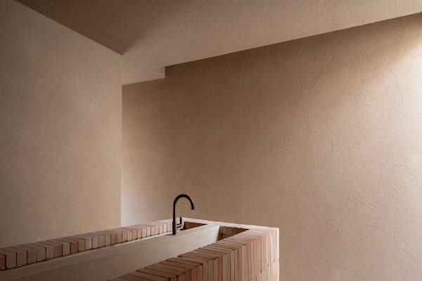 washbasin bricks