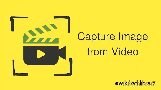 How to capture a still image from Video on Android phone