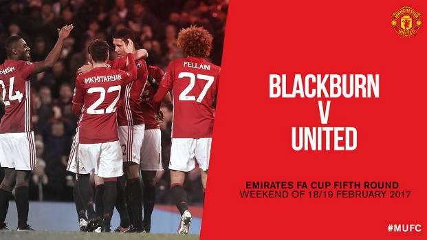 Hasil Undian Piala FA Putaran Kelima, MU Jumpa Blackburn