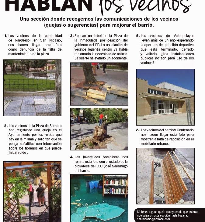 Los vecinos de San Nicasio denuncian el mal estado de su barrio d889591fca167