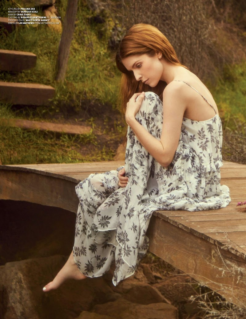 Anna Kendrick Featured in Emmy Magazine -May 2020