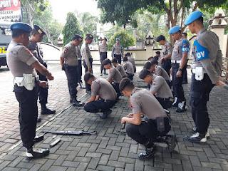 Antisipasi Masalah, Kapolres Wonogiri Perintahkan Pemeriksaan Senjata Api