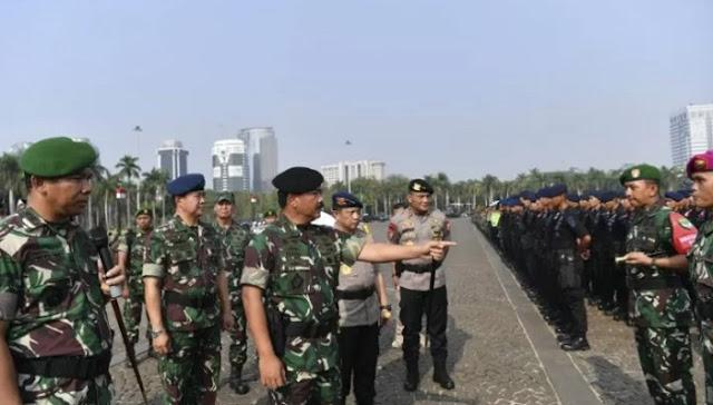 Gelar Pasukan Pengamanan Pelantikan Presiden: Banyak Tamu Negara, Tunjukkan Bangsa yang Damai