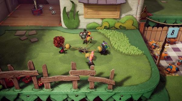 Modo Multijogador Online de Sackboy: Uma Grande Aventura disponível a partir de ontem