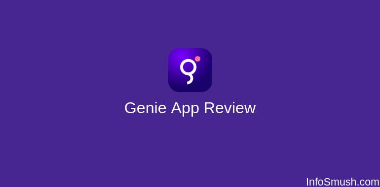 genie app review