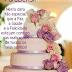 Mensagem de Feliz Aniversário com muito bolo