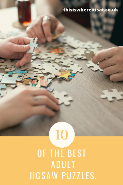 10 of the best adult jigsaw puzzles.