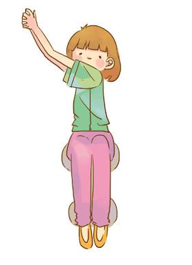 坐著也能瘦小腹!揮手、手肘觸膝,緊實骨盆肌