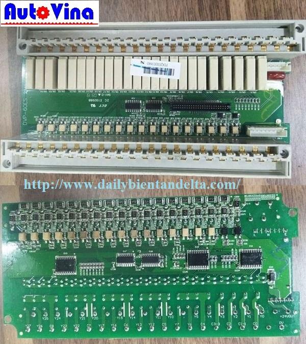 Board mạch I/O ngõ ra relay cho PLC Delta DVP60ES00R2