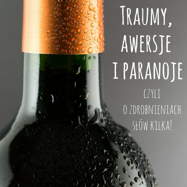 o zdrabnianiu nazw alkoholi