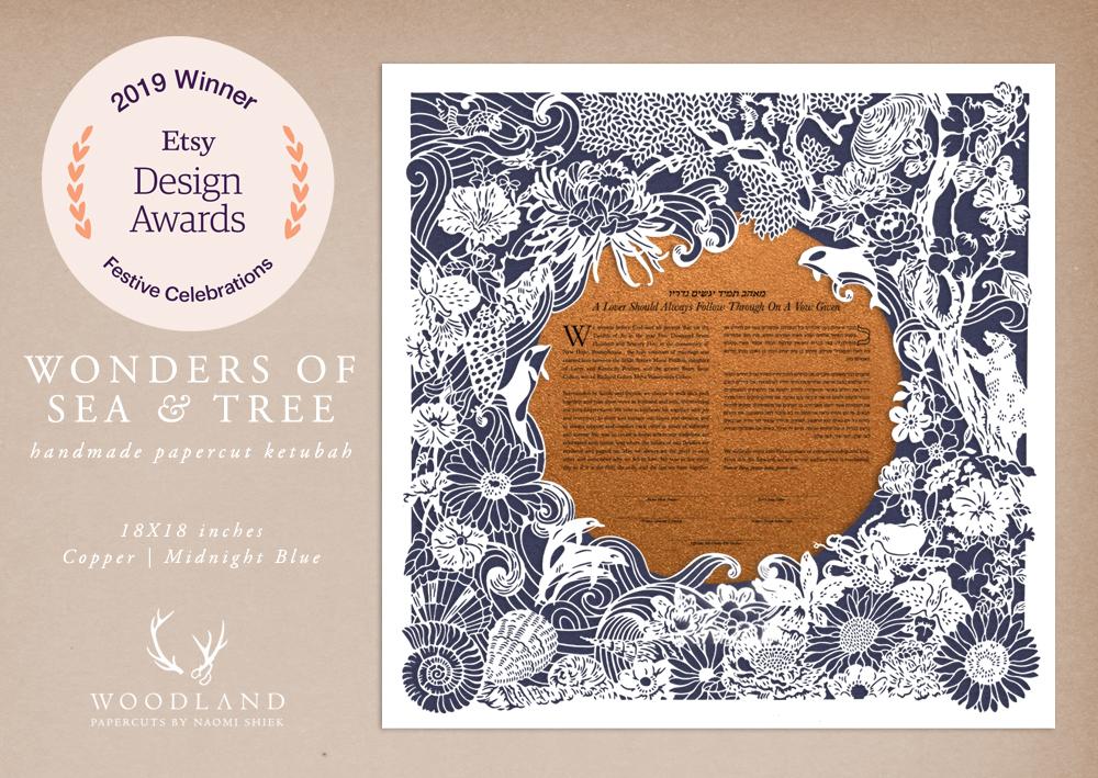 Etsy Design Awards winner in the Festive Celebrations category