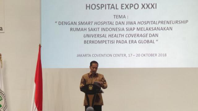 Jokowi: Masa Bayar Utang Rumah Sakit Sampai Presiden, Kebangetan