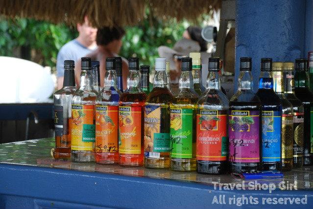 Travel Size Liquor Bottle