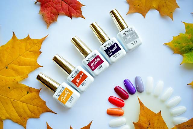 Jesienna kolekcja lakierów hybrydowych Luxury Splash NC Nails Company