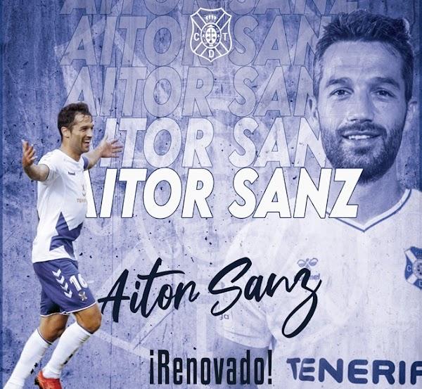 Oficial: Tenerife, renueva Aitor Sanz hasta 2022