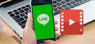 cara download video di line chat
