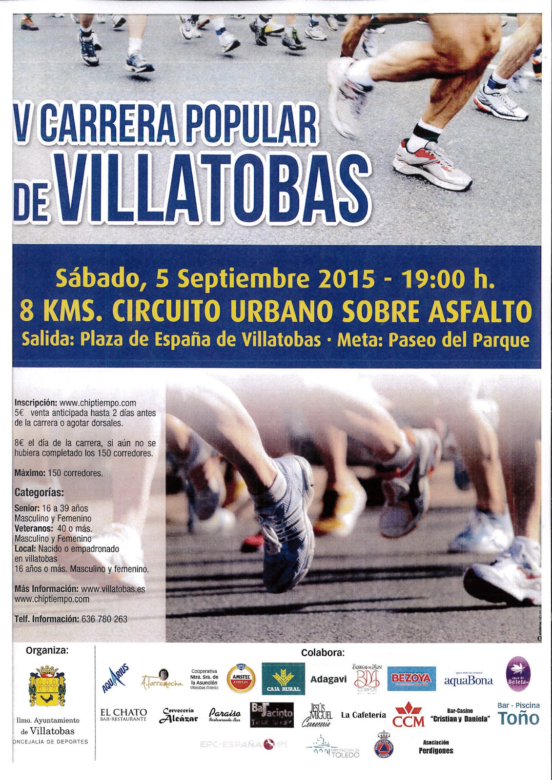 V Carrera Popular de Villatobas
