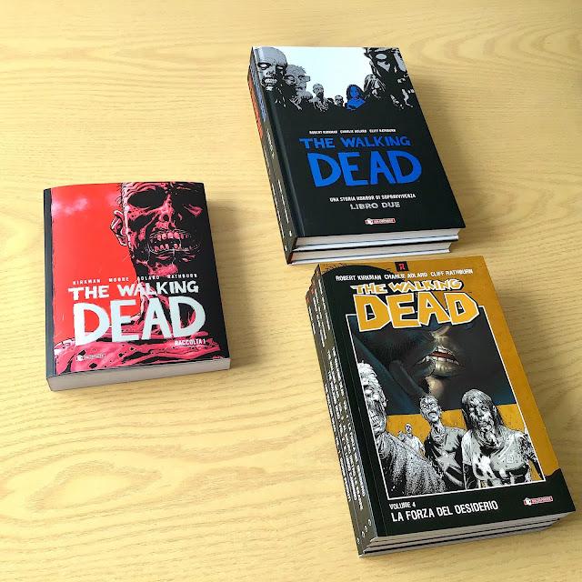 The Walking Dead - Raccolta #1: confronto tra edizioni