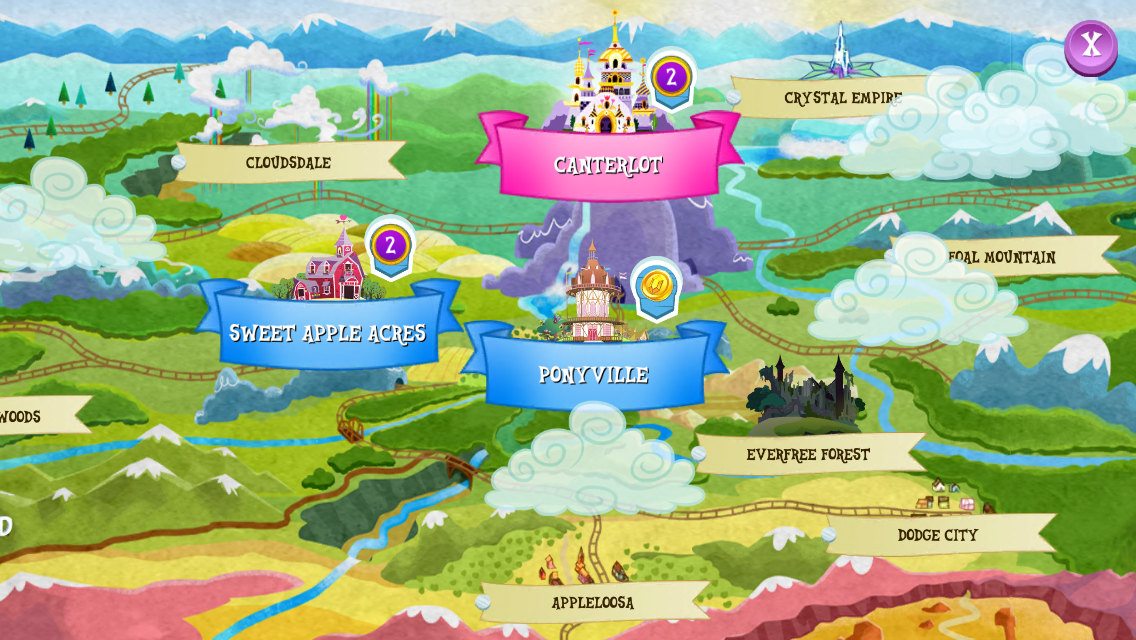 equestria daily   mlp stuff gameloft my little pony mobile game adds