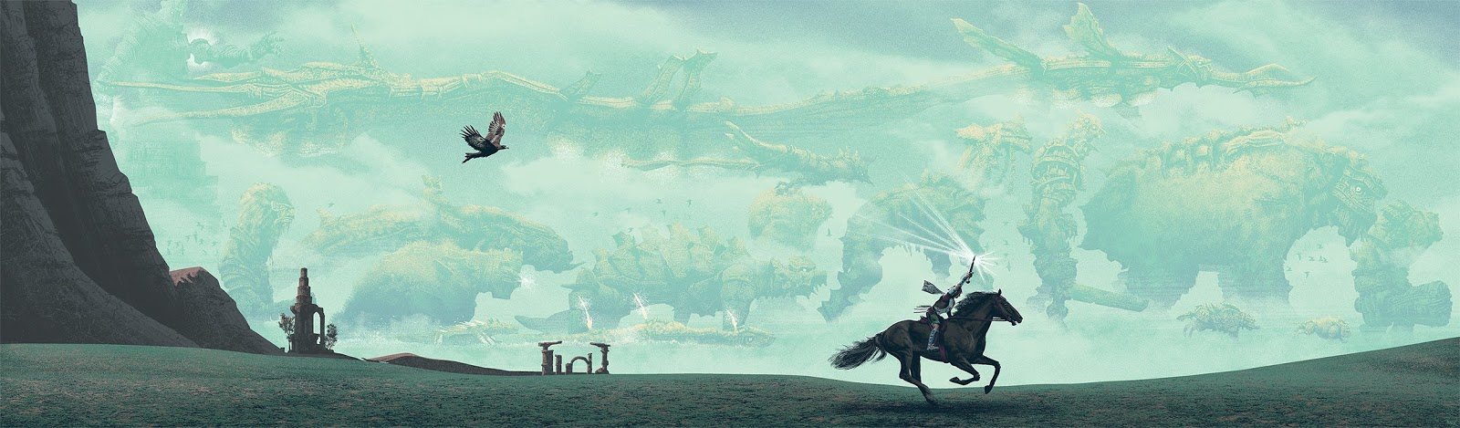 The Geeky Nerfherder Coolart Shadow Of The Colossus