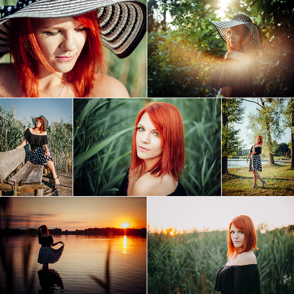 Sesja kobieca z Izą nad jeziorem Grabniak | Fotograf Lublin | lubelskie
