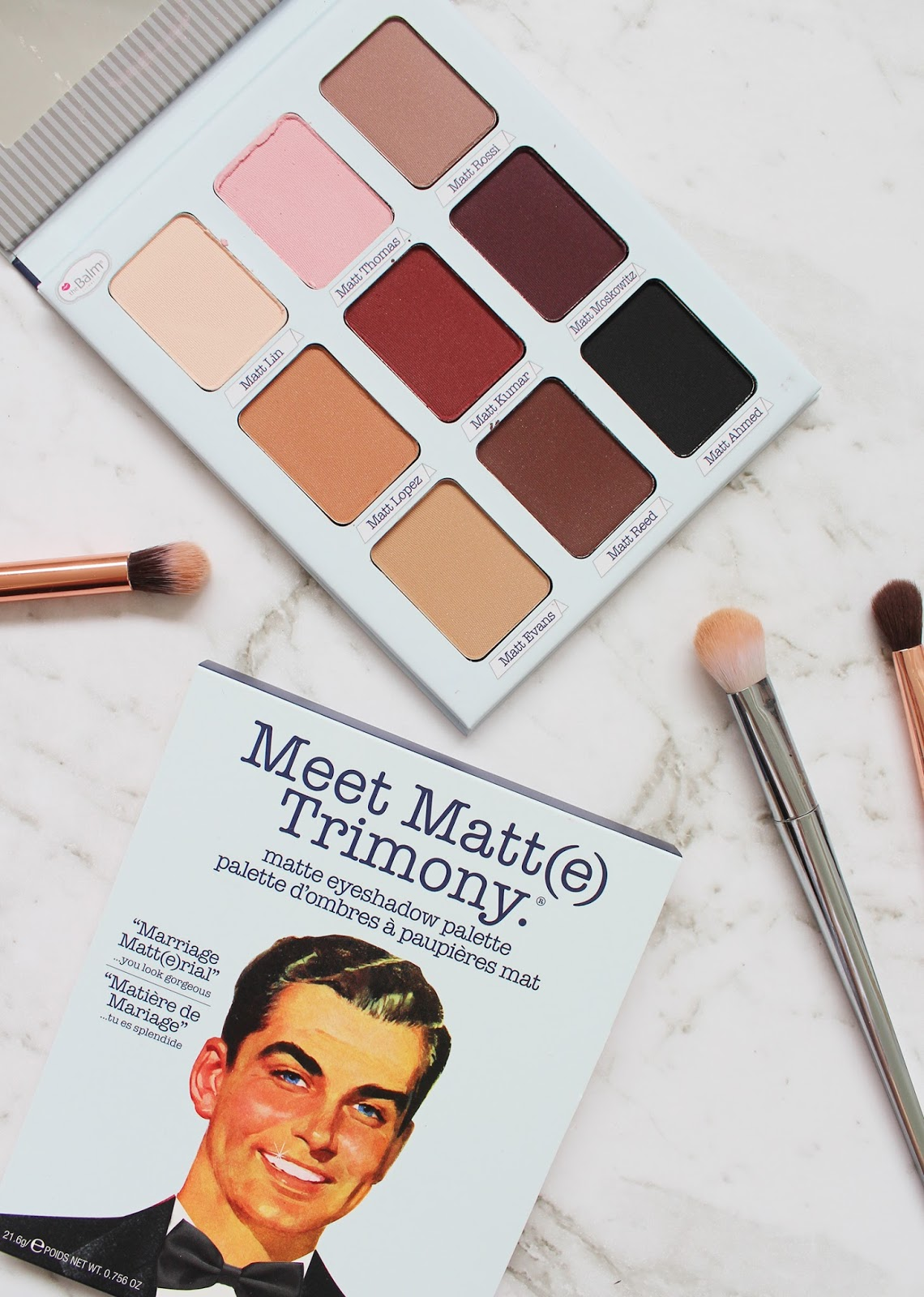 THEBALM | Meet Matt(e) Trimony Matte Eyeshadow Palette - Review + Swatches - CassandraMyee