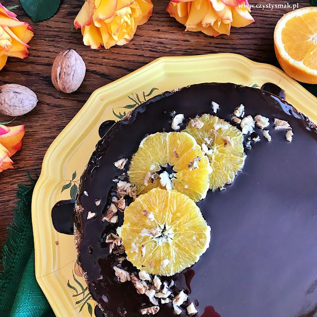 Bezmączne ciasto z pomarańczy