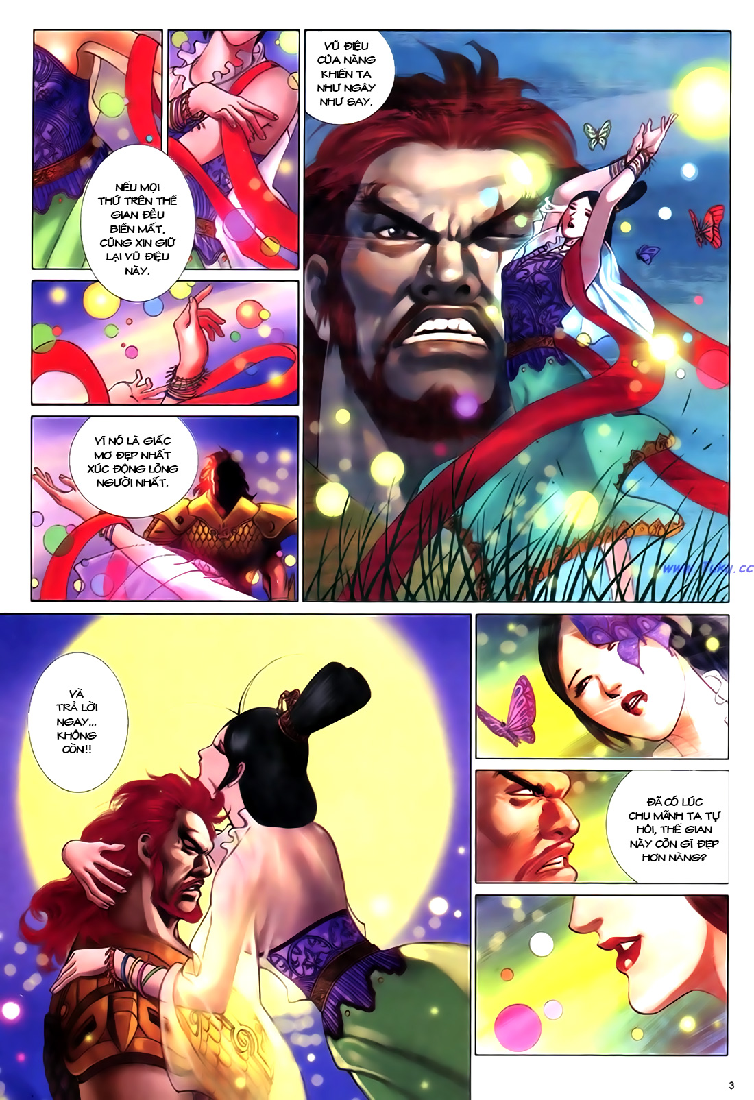 Anh hùng vô lệ Chap 18 trang 4