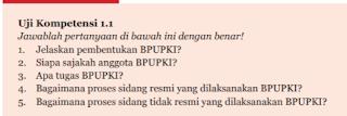 Soal dan Jawaban Uji Kompetensi 1.1 PKN kelas 7 Halaman 30