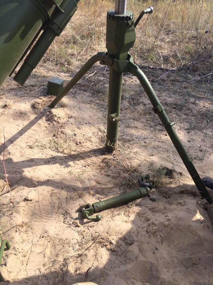 незадоволені якістю мінометів М-120-15 «Молот»