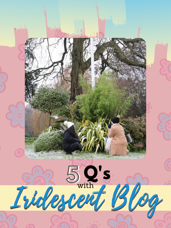 10 QUESTIONS WITH IRIDESCENT BLOG